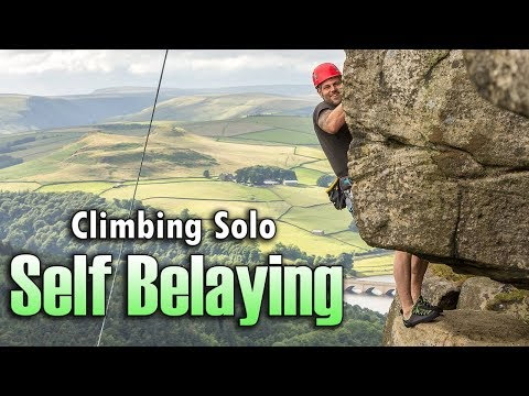 How to Safely Solo Belay using a GriGri/ Micro Traxion