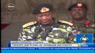 President Uhuru Kenyatta presided over the Kenya Defence Forces day the at Lanet KDF Barracks