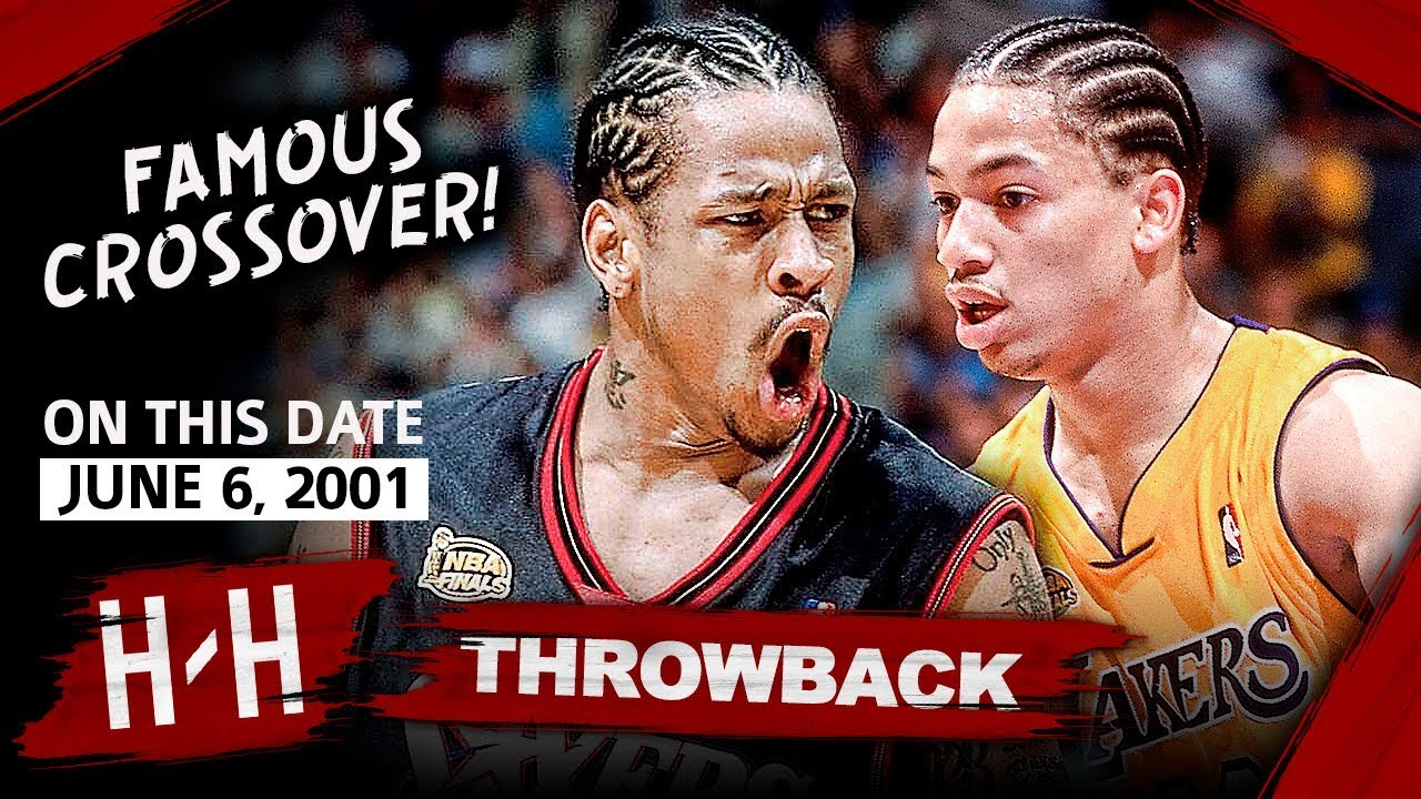 Allen Iverson LEGENDARY Game 1 Highlights vs Lakers 2001 Finals - 48 ... 27a3f190d