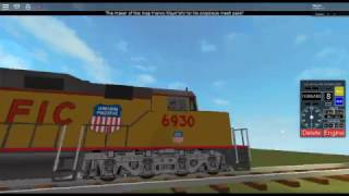 My new Roblox game has an EMD DD40AX that does not move at all