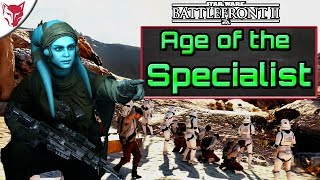 Age of the Specialist, Heroes Cost Credits?! Star Wars Battlefront 2 Extraction Gameplay