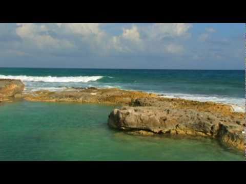 Relaxation Meditation Natural Ocean Sound Views from Mexico Riviera Maya