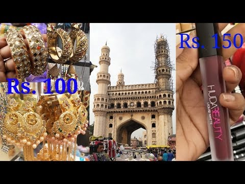 Shopping at Charminar | Hyderabad | Part 1