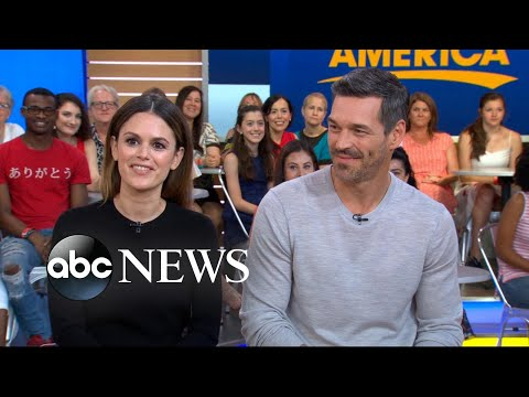 Rachel Bilson and Eddie Cibrian on 'Take Two' set rituals