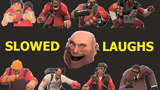 TF2: Slowed Laughing of Every Class (Chain Saw and Kettle Included) >Team Fortress 2<