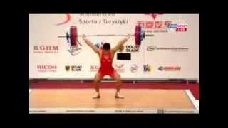 Чемпионат мира по тяжелой атлетике 2013!Мужчины 62 кг! Рывок