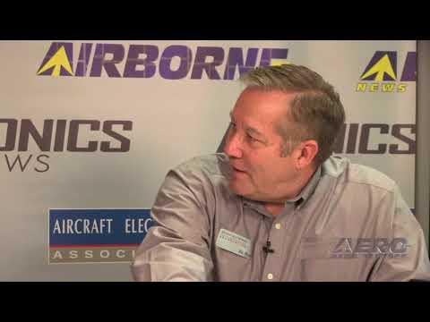 Aero-TV: Inside AEA 2018 - AEA's Ric Peri