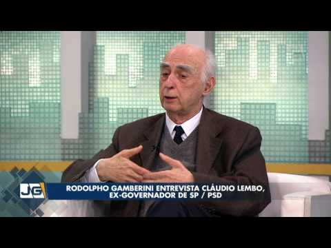 Rodolpho Gamberini entrevista Cláudio Lembo, ex-governador de SP/PSD
