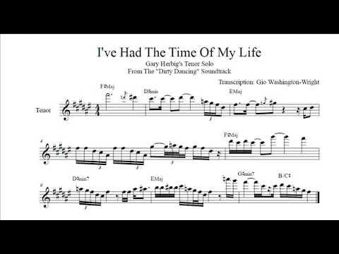 Gary Herbig's tenor solo on