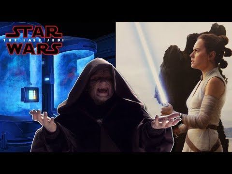 Palpatine Had Plagueis Frozen? Rey is Luke's Sister? STAR WARS