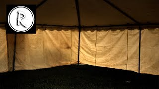 9 HOURS of RAIN on a TENT I Sound Therapy I Relax Night and Day