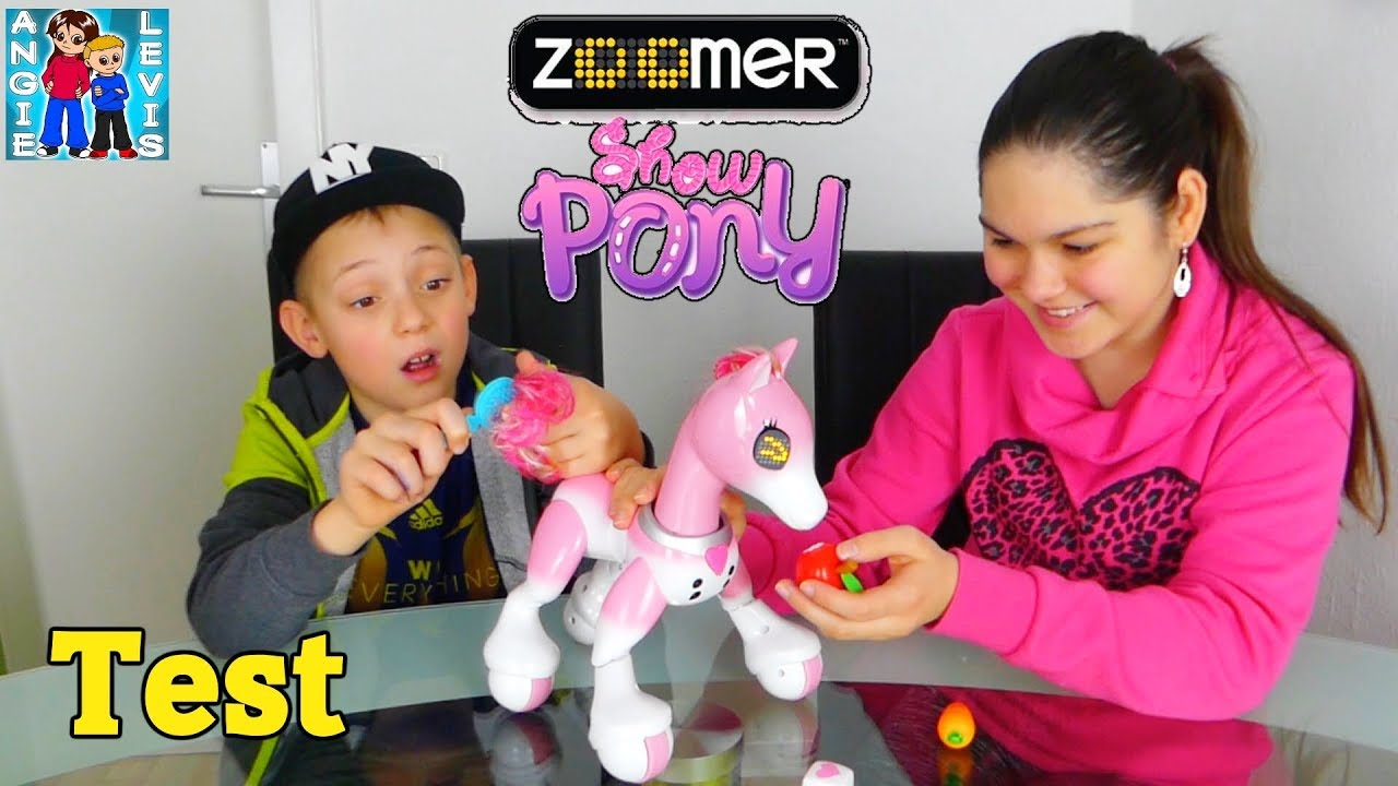 zoomer show pony video deutsch spielzeug test f r. Black Bedroom Furniture Sets. Home Design Ideas