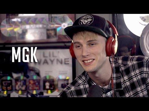 MGK talks Amber Rose, Eminem's Daughter, New Album + Live Performance!