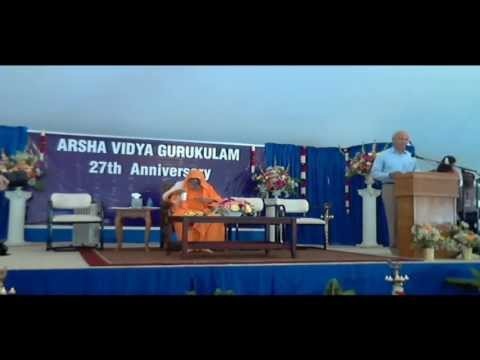 Arsha Vidya Gurukulam 27th Anniversary Function, Aug 25th 2013