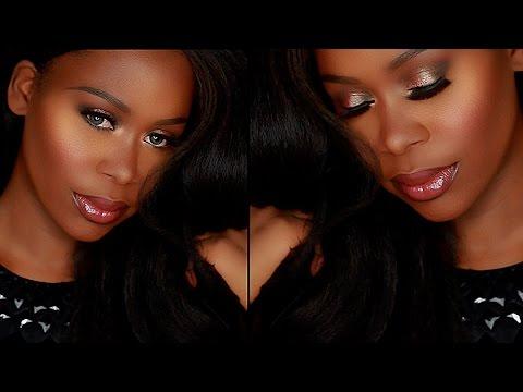 Trying BH Cosmetics | Mauve Halo Smokey Eye Soft Glam Makeup Tutorial