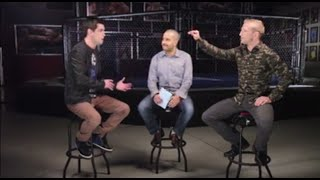 "UFC bantamweight champion TJ Dillashaw and No. 1 contender Dominick Cruz wage verbal warfare on a segment called ""Counterpunch"" on Ultimate Insider."