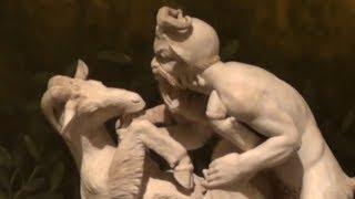 Порно из Неаполитанского археологического: античность игривая и живая