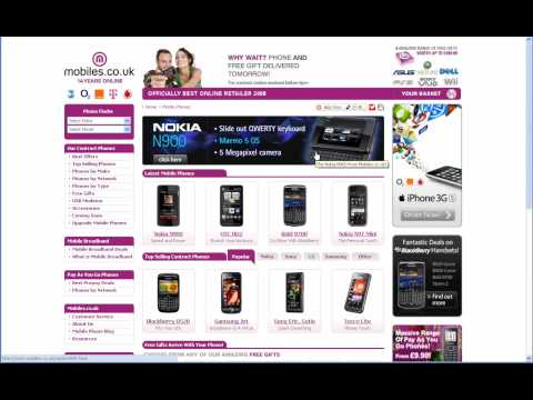 Mobiles.co.uk Cashback - Get Upto £70 From Mobiles.co.uk