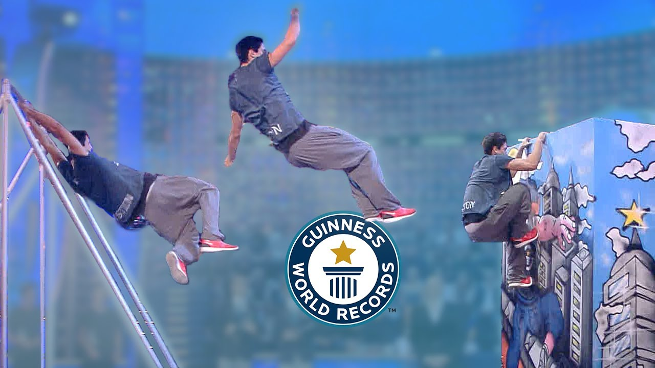 Ultimate Parkour Records - Guinness World Records