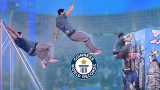 Ultimate Parkour Battle - Guinness World Records