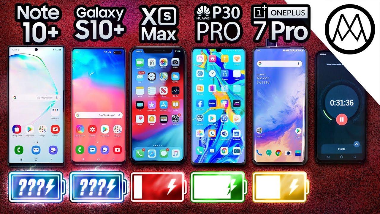 Samsung Note 10 Plus vs S10 Plus / iPhone XS Max / P30 Pro