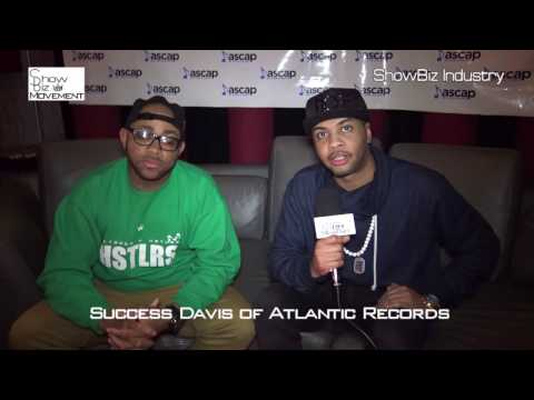 Atlantic Records Director of A&R Success Davis. Interviewed by Trix- www.ShowBizMovement.com, NYC