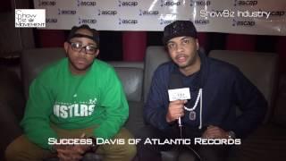 Atlantic Records Director of A&R Success Davis. Interviewed by Trix- www.ShowBizMovement.com, NYC