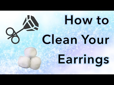 Vlog: How to Clean Your Earrings