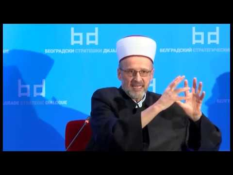 Belgrade Strategic Dialogue - Abdulah Numan, muftija srbijanski 11.11.2017.