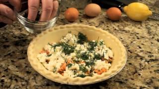 Canned Salmon & Feta Cheese Pie Recipe : Salmon Series