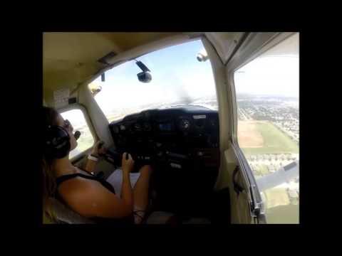 Anna Jackson, First Solo Flight. August 4, 2014