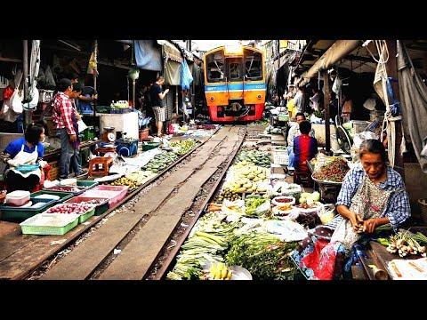 Top 10 Most Dangerous Rail Tracks Around The World - (हिंदी) | English Subtitle