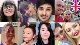 Manchester terror attack  Victims and heroes in arena bombing identified