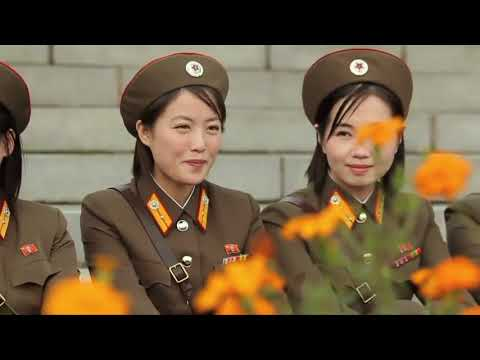 I put Christmas music on North Koreans marching