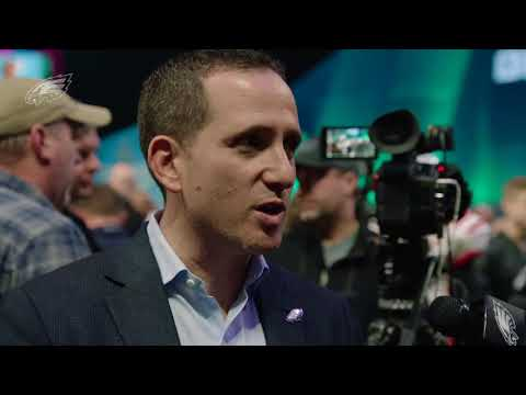 Eagles Press Pass: Executive VP Of Football Operations Howie Roseman