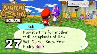 Mario Plays Animal Crossing City Folk 27