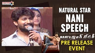 Natural Star Nani Fabulous Speech | Nani's Gang Leader Pre Release Event | Karthikeya | Vikram Kumar