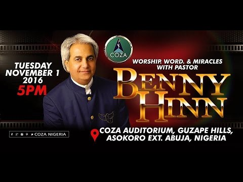 Benny Hinn Powerful Ministering @ COZA Abuja, Nigeria.