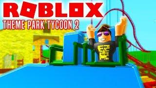 AWESOME RUTSCHEBANE! - Roblox Theme Park Tycoon 2 Dansk Ep 7