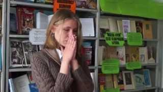 Владлена Ягола на конкурсе чтецов «Строки, опаленные войной»