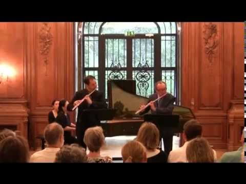 Maxence Larrieu and Juergen Franz plays C.P. E. Bach Triosonata in d minor