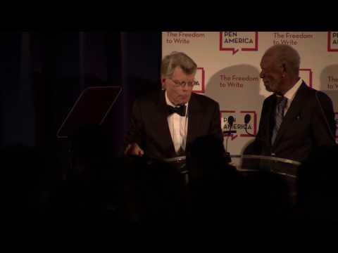 2018 Literary Gala: Morgan Freeman & Stephen King, Literary Service Award
