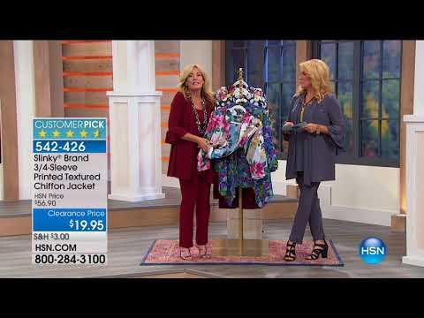 HSN | Slinky Brand Fashions 08.11.2017 - 11 PM