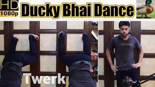 Ducky Bhai Dance On A Dare | Ducky Bhai Twerk | Saad UR Rehman | Twerk Dance