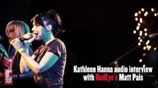 Kathleen Hanna of The Punk Singer talks with Matt Pais