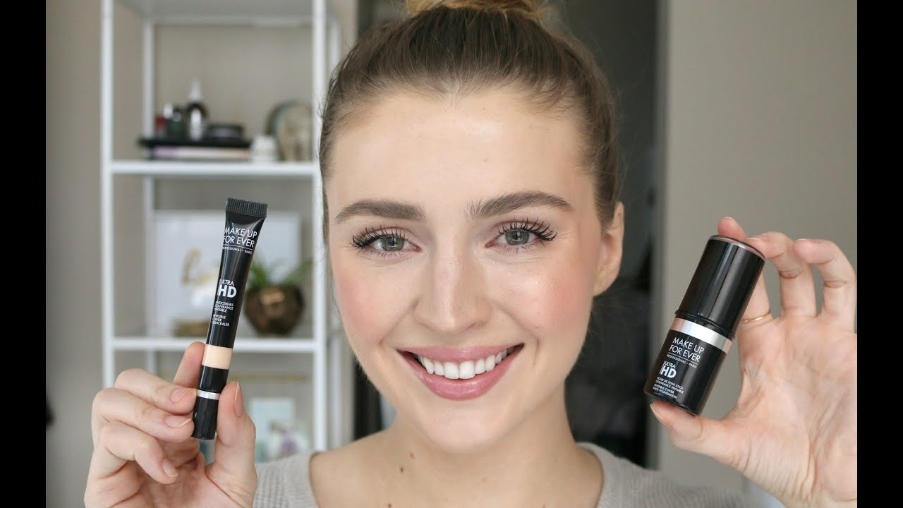 REVIEW! MAKEUP FOREVER HD STICK FOUNDATION & CONCEALER