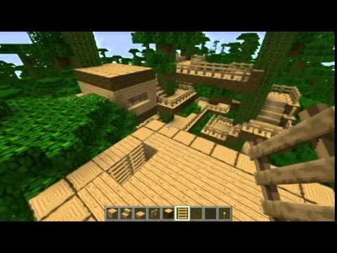 DRP - MineCraft TreeHouse - Ep 3