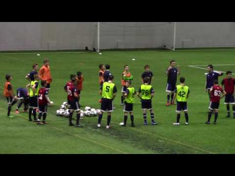 Vancouver Whitecaps NS Academy Discovery Block - Find player(s) on the run - Led by Jared Griffiths