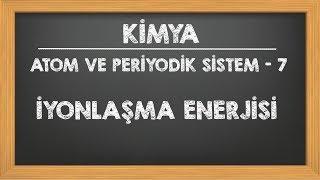 İyonlaşma Enerjisi 9.sınıf YKS TYT