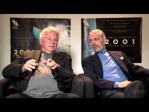 Keir Dullea and Gary Lockwood:  about 2001 A Space Odyssey